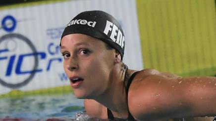 Federica Pellegrini, 29 anni LAPRESSE