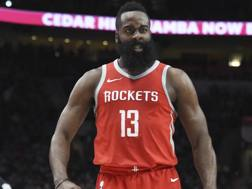 James Harden, 29 anni, a Houston dal 2012. Ap