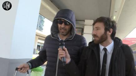 Gigi Buffon intervistato da Nicolò De Devitiis delle Iene