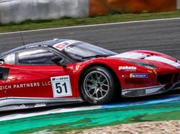 La Ferrari 488 in azione