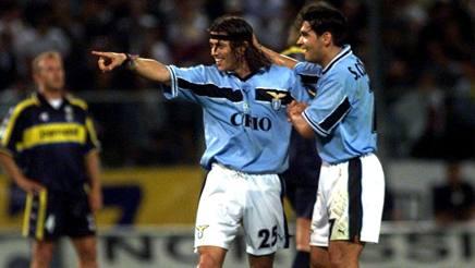 Almeyda e Conceicao ai tempi della Lazio. Ansa