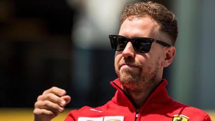 Sebastian Vettel, al comando del Mondiale con 9 punti su Hamilton. Afp