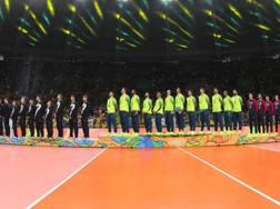 Il podio di Rio: 13 di questi giocatori oggi in campo nelle semifinali. Tarantini