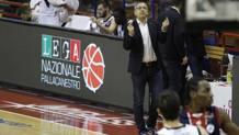 Lino Lardo, allenatore di Udine, vincente a Trieste CIAM