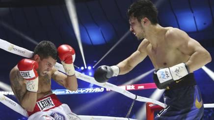 Ryota Murata ferale col destro contro Emanuele Blandamura, 38 anni. Ap