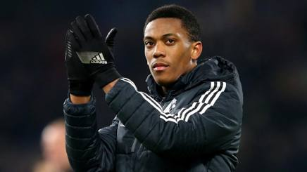 Anthony Martial, 22 anni, attaccante del Manchester United . Getty