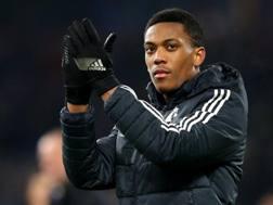 Anthony Martial, 22 anni, attaccante del Manchester United . Getty