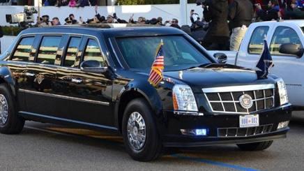 L'attuale Cadillac usata dal presidente Usa Donald Trump