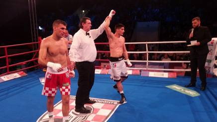 L'arbitro suggella la vittoria di Mirko Natalizi