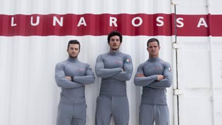 Matteo Celon, a destra, con Tesei e Voltolini