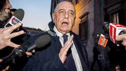 L'ex a.d. del Milan, oggi Senatore della Repubblica, Adriano Galliani, 73 anni. Imago
