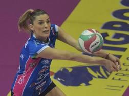 Francesca Piccinini, 39 anni, alla seconda stagione a Novara RUBN/LVF