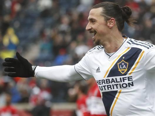 Zlatan Ibrahimovic, 36 anni. AFP