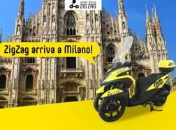 La locandina dell nuovo scooter sharing ZigZag