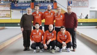 Gli atleti della CDM Vallefoglia