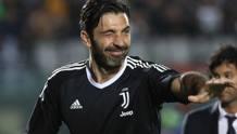 Il capitano della Juventus Gianluigi Buffon, 40 anni. Getty