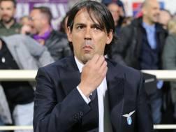 Il tecnico della Lazio Simone Inzaghi. Getty