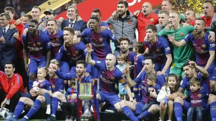 La festa del Barcellona. Ap