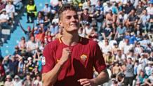 Patrick Schick, attaccante della Roma. Ansa