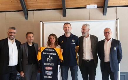 Il vertice di Verona Volley alla iniziativa di ieri