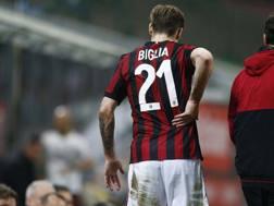 Lucas Biglia, centrocampista argentino del Milan. LaPresse