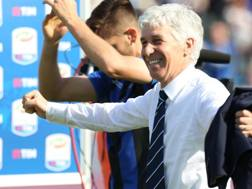 Gian Piero Gasperini, tecnico dell'Atalanta. LaPresse