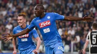 Juve-Napoli, lo spettacolo all'Allianz Stadium