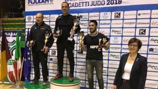 Il podio della classifica società con il Fitness Club Nuova Florida al primo posto con 10 medaglie