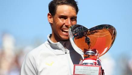Rafa Nadal, 31 anni, 11° titolo a Montecarlo per lui. Getty