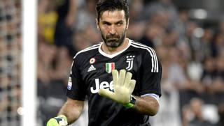 Il portiere della Juve Gigi Buffon, 40 anni. Getty