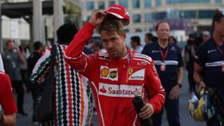 Il contatto del 2017, a Baku, fra Vettel e Hamilton