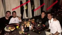 Alessio Romagnoli e i suoi compagni di squadra. Instagram