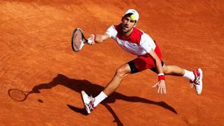 Il serbo Novak Djokovic. Afp