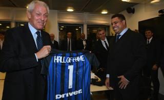 Marco Tronchetti Provera con Ronaldo. Getty