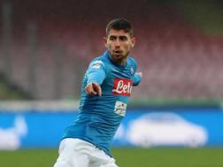 Jorginho, centrocampista del Napoli. Getty