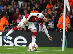 Mesut Ozil. Getty Images