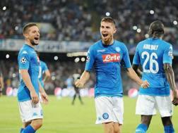 Jorginho, 26 anni, centrocampista del Napoli. Getty