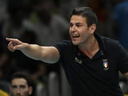 Chicco Blengini, 46 anni, c.t. dell'Italia ANSA