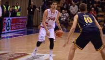 Federico Mussini, 22 anni, play di Trieste: l'Alma è testa di serie n.1 nei playoff FOTO LNP