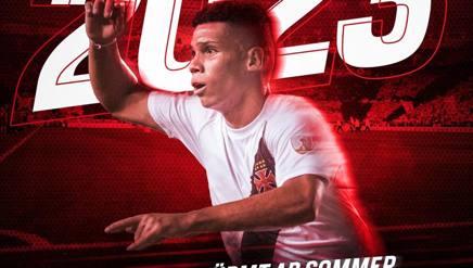 L'attaccante brasiliano Paulinho, 17 anni