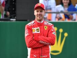 Sebastian Vettel.Afp