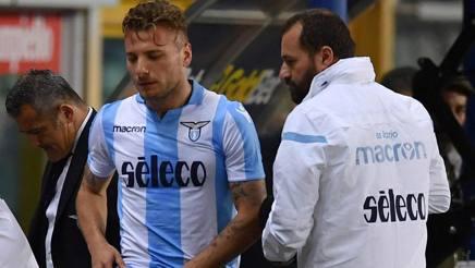 L'attaccante della Lazio Ciro Immobile. Getty