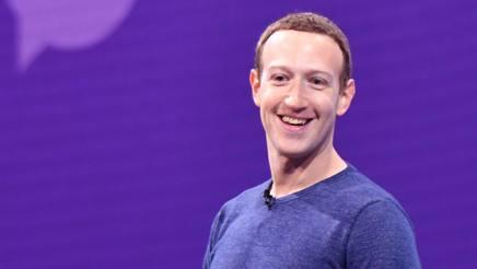 Mark Zuckerberg, 33 anni. Afp
