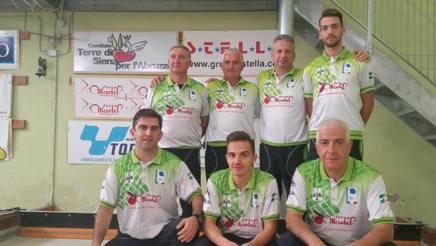 Gli atleti de L'Aquila