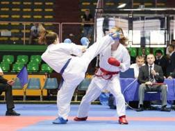 Un momento della finale 2017 dei 53 kg femminili tra Murabito e Boselli