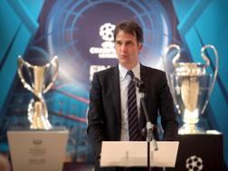 Il vicepresidente della Uefa e d.g. della Figc, Daniele Uva. Ansa