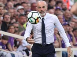 Il tecnico della Fiorentina, Stefano Pioli. Getty