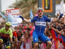 La vittoria di Elia Viviani (AFP)