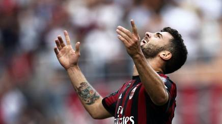Patrick Cutrone, attaccante del Milan. LaPresse
