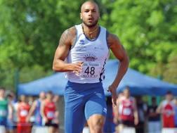 Marcell Jacobs, 23 anni, allenato da Paolo Camossi. Bruschettini